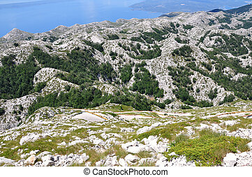Biokovo in The Croatia - View from Sv Jure - Croatia