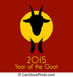 Chinese New Year of the Goat 2015.