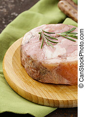 homemade roast pork carbonate