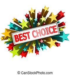 Best choice star banner