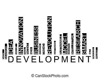 Development barcode background