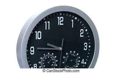 Clock Fast Time Accelerated - Clock ticking accelerated...