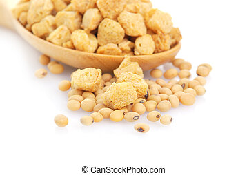 Soy protein , Textured Vegetable Protein ,for vegan food -...