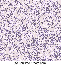 Gentle abstract seamless pattern