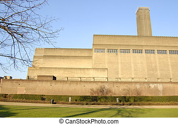 London-21-0099 - The Tate Modern art gallery on the South...