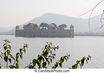 Jal Mahal, Jaipur, India - Jal Mahal meaning Water Palace in...