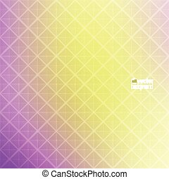 Abstract vector background with triangles and pattern of...
