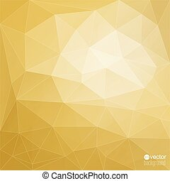 Abstract vector background with triangles and polygon mesh...