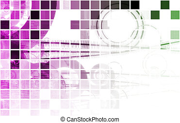 Purple Medical Science Technology as a Art