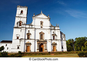 Church of St. Francis of Assisi in Old Goa, India