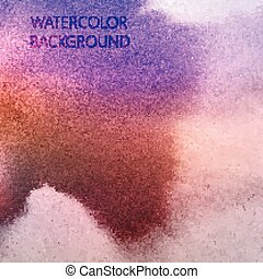 vector abstract multicolored watercolor background for your desi