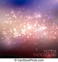 multicolored sparkling background with glowing sparkles and...