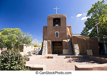San Miguel Church is the oldest church in the USA, Santa Fe,...