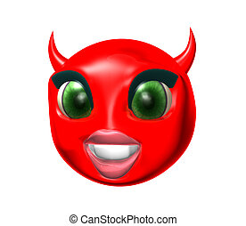 Devil smilie - Devil