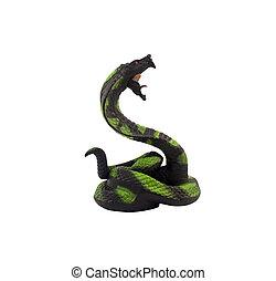 Kobra, schlange,