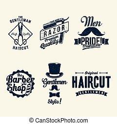 loja, vindima, barbeiro