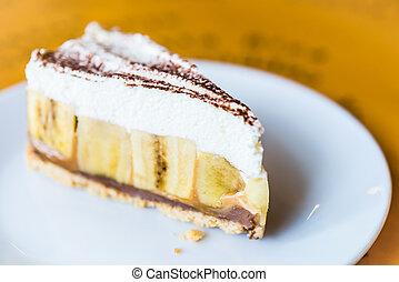 Banoffee cakes - Banoffee pie cakes