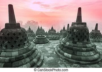 Borobudur Temple,Java, Indonesia.