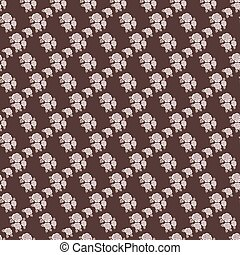 Elegant seamless pattern with  roses