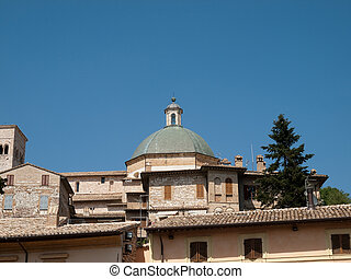 Assisi-Italy - The Cathedral of StRufino in Assisi