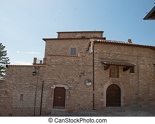 Assisi-Italy - Clarisse Monastery in Assisi ,Italy