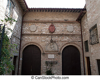 Assisi-Italy - Monastery of s.Giuseppe in Assisi