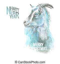 New year goat.