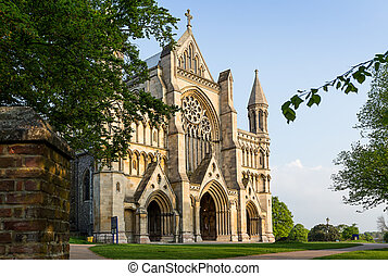 Cathedral and Abbey Church Saint Alban St.Albans - Cathedral...