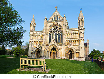 Cathedral and Abbey Church Saint Alban StAlbans - Cathedral...