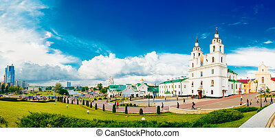 The Cathedral Of Holy Spirit In Minsk - The Main Orthodox Church