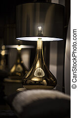 Lamp Shade on the table