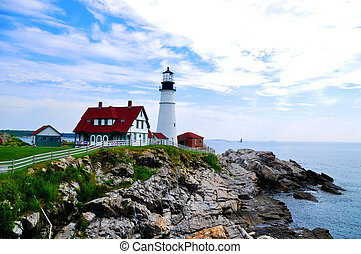 Portland Head Lighthouse, Maine - Portland Head Lighthouse...