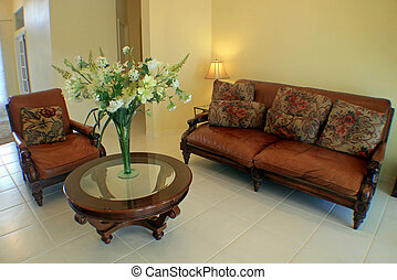 Sitting Room - An Interior Sitting Room of a Home