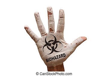 palm biohazard