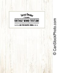 Wood texture for your shabby chik vintage design Vector...