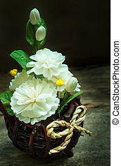 still life with beautiful flowers - Still life with bouquet...