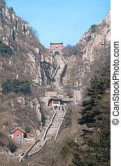 Stairway to Heaven, Taishan, China - TAISHAN, CHINA -...