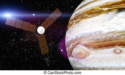 jupiter and satellite juno - Juno requires a five-year...