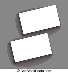 Template for business cards.