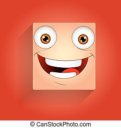 Cheerful Smiley Expression