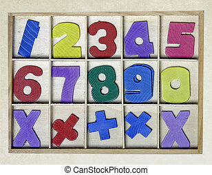 numbers toy