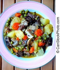 Sukaldi. Basque country stew. - Sukaldi. Typical Basque...