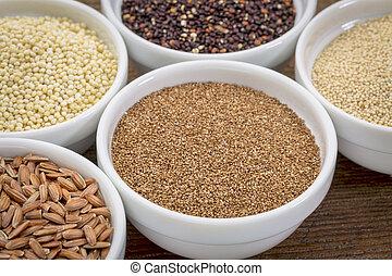 teff gluten free grain - teff and other gluten free grains...