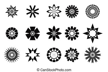 Abstract star set collaction