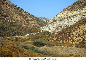 Wadi - Israel national trail in wadi...