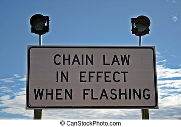 "Snow Chain Law - Many people never heard of a ""Chain Law""..."