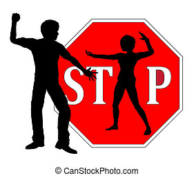 Self Defense for Women - Woman who is defending herself as...
