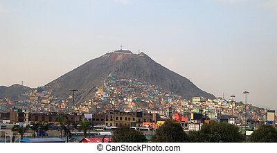Lima in Peru - capital city of Peru named Lima (South...