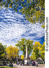 Autumn in Santa Fe, NM - Beautiful fall colors on display in...