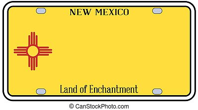 New Mexico State License Plate - New Mexico state license...